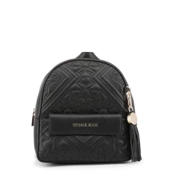 966e06abab28 Versace Jeans Black Ruck sack Back Pack